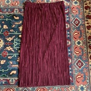 Urban Outfitters, Cooperative pleated maxi skirt
